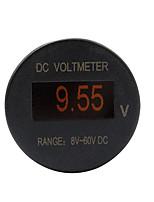 Недорогие -мини oled универсальный вольтметр 8-60 В постоянного тока светодиодная цифровая панель ip66 монитор напряжения