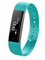 Недорогие -id115 унисекс умный браслет smartwatch android ios bluetooth спорт сенсорный экран калории сожжены длительное время ожидания запись упражнения напоминание активности трекер сна трекер сидячий