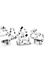 Недорогие -8шт Нержавеющая сталь Новогодняя тематика Необычные гаджеты для кухни Десертные инструменты Инструменты для выпечки