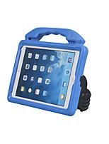 Недорогие -Кейс для Назначение Amazon iPad Air / iPad (2018) / iPad Air 2 Защита от удара / со стендом Кейс на заднюю панель Однотонный Этиленвинилацетат
