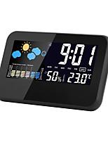 Недорогие -LITBest CJ2618T Портативные / Для профессионалов Электронный термометр Измерение температуры и влажности, Стиль будильника, ЖК-дисплей задней подсветки