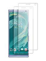 Недорогие -защитная пленка для экрана sony xperia 10 plus / 1 / l3 / l2 / xz3 / xa1 / xz2 compact / xa2 защитная пленка ультра высокой четкости (hd) 2 шт. закаленное стекло