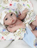 Недорогие -Куклы реборн Куклы Мальчики Девочки 10 дюймовый Силикон - Безопасность Подарок Очаровательный Детские Универсальные / Девочки Игрушки Подарок