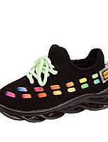 Недорогие -Мальчики / Девочки Сетка / Эластичная ткань Спортивная обувь Большие дети (7 лет +) Удобная обувь Для прогулок Черный / Розовый / Бежевый Осень / Контрастных цветов