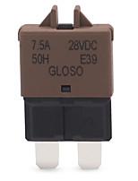 Недорогие -лезвие сброса предохранителя выключателя цепи midium dc 28v 5-30a для шлюпки тележки автомобиля морской