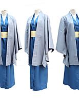 Недорогие -Вдохновлен Джинтама Косплей Аниме Косплэй костюмы Японский Косплей Костюмы Пальто / Кофты Назначение Муж. / Жен.