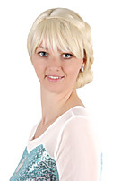 Недорогие -Косплей Принцесса Косплэй парики Жен. 8 дюймовый Синтетика Золотистый Золотой Аниме