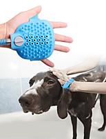 Недорогие -Собаки Животные опрыскиватель Приложение шланга Ополаскиватель разбрызгиватель Для душа Прост в применении Полный силикон для тела Ванночки Синий