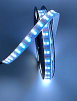 Недорогие -5м двухслойные гибкие светодиодные полосы / RGB полосы света / струнные светильники 600 светодиодов SMD5050 / SMD3528 RGBWarm / RGBBwhite водонепроницаемые / вечеринка / декоративные 12 В 1шт