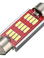 Недорогие -1 шт. Автомобильные лампочки 3,2 Вт smd 4014 360 лм 12 светодиодные фонари для Volkswagen / Toyota / Benz General Motors все годы 42 мм