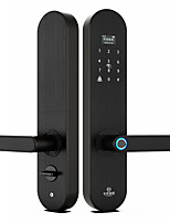 Недорогие -Factory OEM KDLYD6ZM сплав цинка Замок / Блокировка отпечатков пальцев / Интеллектуальный замок Умная домашняя безопасность Android система RFID / Отпирание отпечатка пальца / Разблокировка пароля