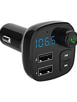 Недорогие -автомобильное зарядное устройство автомобильный mp3-плеер громкой телефон получает многофункциональный Bluetooth музыка U диск
