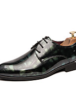 cheap -Men's Formal Shoes Synthetics Spring & Summer / Fall & Winter Casual / British Oxfords Non-slipping Black / Green / Burgundy