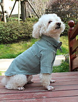 Недорогие -Собаки Коты Животные Футболки Одежда для собак Бант Зеленый Розовый Полиэстер Костюм Назначение Осень Свадьба
