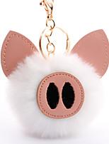 Недорогие -Брелок корейский Милая Мода Модные кольца Бижутерия Черный / Светло-Розовый / Белый Назначение Подарок Повседневные