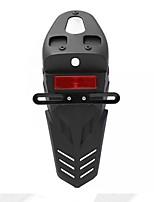 Недорогие -1шт 43x14.2см универсальный хвост мотоцикла задний отражатель света держатель номерного знака кронштейн