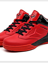 Недорогие -Мальчики Удобная обувь Сетка Спортивная обувь Большие дети (7 лет +) Беговая обувь Черный / Красный Лето