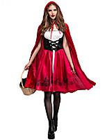 Недорогие -Вдохновлен Алиса в Стране Чудес Косплей Аниме Косплэй костюмы Японский Косплей Костюмы Платье / Воротник-шаль Назначение Жен.
