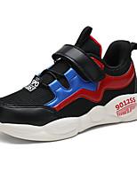 Недорогие -Мальчики Сетка Спортивная обувь Большие дети (7 лет +) Удобная обувь Для прогулок Черный / Темно-синий / Серый Осень