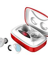 Недорогие -litbest tws bluetooth 5.0 наушники мини беспроводные наушники со светодиодным дисплеем питания сенсорная кнопка шумоподавления спортивная гарнитура