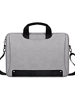 cheap -13.3 Inch Laptop / 14 Inch Laptop / 15.6 Inch Laptop Sleeve / Shoulder Messenger Bag / Briefcase Handbags Nylon Fiber Solid Colored / Novelty for Business Office for Colleages & Schools Waterpoof