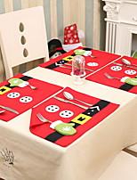 Недорогие -Рождественские украшения Новогодняя тематика Хлопковая ткань Мини Мультипликация Рождественские украшения