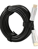 Недорогие -Оптоволокно HDMI 2.0 кабель 4 К 60 Гц 444 18 г Поддержка HDR10 дуги HDCP2.2 3D 10 м