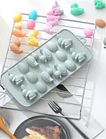 Недорогие -Анимированная помадка яйцо утенок силиконовые формы шоколад ледяной пудинг моделирование формы для выпечки украшения торта ледяной формы