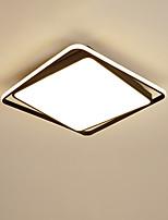 Недорогие -современные прямоугольники светодиодный потолочный светильник fashional квадратный потолочный светильник спальня кабинет свет