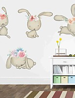 cheap -Decorative Wall Stickers - Plane Wall Stickers Animals Nursery / Kids Room
