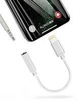 Недорогие -ios 13 портативный адаптер для наушников с переходом на 3,5 мм аудио кабель для iphone 11 / 11pro / 11 pro max / xs / x / 7 8