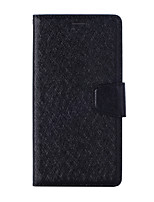 cheap -Case For Nokia Nokia 9 / Nokia 7 Plus / Nokia 3.1 Card Holder Flip Magnetic Full Body Cases Solid Colored PU Leather textured