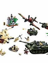 Недорогие -Конструкторы 998 pcs совместимый Legoing трансформируемый Все Игрушки Подарок