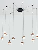 Недорогие -современная люстра 9 светильники подвесной светильник подвесной потолочный светильник светодиодные лампы в комплекте для кухни столовая гостиная кафе