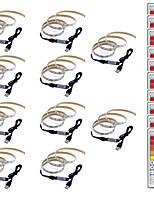 Недорогие -0.5м Гибкие светодиодные ленты / RGB ленты / Пульты управления 30 светодиоды SMD5050 1 пульт дистанционного управления 44Keys Разные цвета Творчество / USB / Для вечеринок 5 V 10 шт.
