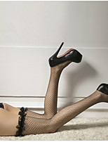 cheap -Women's Thin Stockings - Sexy / Lace 30D Black One-Size