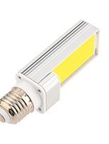 Недорогие -ywxlight&рег; Светодиодные лампы E27 Cob 7 Вт 600-700LM холодный белый светодиодный свет кукурузы Светодиодный горизонтальный штекер (AC 85-265 В) светодиодные лампы (теплый белый)