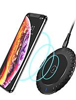 Недорогие -10 Вт быстрое беспроводное зарядное устройство для iphone samsung qi беспроводное зарядное устройство настольной зарядки