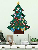 Недорогие -Рождественские украшения Новогодняя ёлка PVC Рождественская елка Оригинальные Рождественские украшения