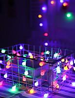 Недорогие -2м Гирлянды 10 светодиоды Разные цвета Декоративная 5 V 1 комплект
