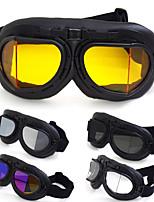 Недорогие -ретро ретро очки мотоциклетный шлем очки очки езда очки ветрозащитный водонепроницаемый - прозрачный