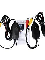 Недорогие -Ziqiao 2,4 ГГц беспроводной RCA AV-видео передатчик приемник для камеры заднего вида монитор авто DVD MP5-плеер