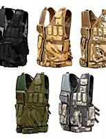 Недорогие -Многофункциональный открытый охотничий тактический жилет cs военная защитная броня с кобурой - 3