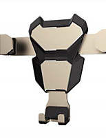 cheap -Car Mount Stand Holder Air Outlet Grille Buckle Type / Gravity Type / Adjustable Rubber / Metal Holder