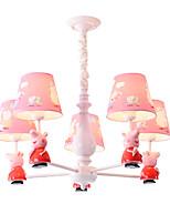 Недорогие -5-Light промышленные Люстры и лампы Потолочный светильник Окрашенные отделки Металл обожаемый 110-120Вольт / 220-240Вольт
