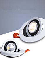 Недорогие -2pcs 12 W 960 lm 1 Светодиодные бусины Встроенные Точечное LED освещение Встроенное освещение LED даунлайт 220-240 V 110-120 V Деловой Дом / офис Гостиная / столовая