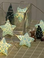 Недорогие -сделай сам трещина большой пятиугольник моделирования лампа строка 2 м 10led лампы хэллоуин украшения фестиваль украшения аа батареи питания 1 шт.