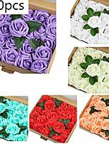 Недорогие -Искусственные Цветы 1 Филиал Классический Modern Розы Цветы на стену