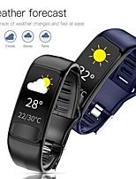 Недорогие -P12 смарт-часы фитнес-группа ЭКГ ppg монитор сердечного ритма ip67 водонепроницаемый браслет здоровья часы для телефона xiaomi huawei