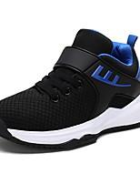 Недорогие -Девочки Удобная обувь Полиуретан Спортивная обувь Большие дети (7 лет +) Беговая обувь Черный / Красный / Синий Осень